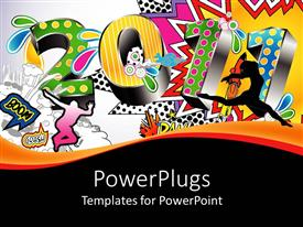 comic powerpoint templates | crystalgraphics, Modern powerpoint