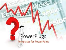 PowerPlugs: PowerPoint template with a 3D character with a big red question mark