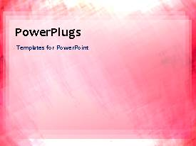 PowerPlugs: PowerPoint template with abstract animated background with pink theme
