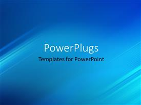 PowerPlugs: PowerPoint template with abstract background with glowing diagonal stripes effect