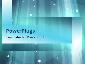 PowerPlugs: PowerPoint template with an abstract background with a number of bullet points