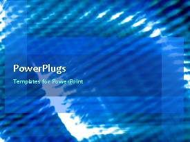 PowerPlugs: PowerPoint template with abstract background with swirling lines and light glow