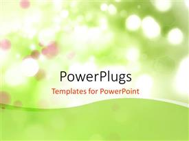 PowerPlugs: PowerPoint template with abstract colorful bokeh effect