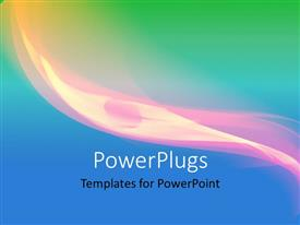 PowerPlugs: PowerPoint template with abstract colorful elegant curves