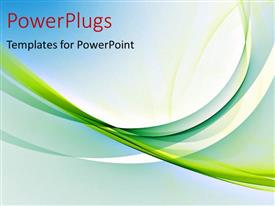 PowerPlugs: PowerPoint template with abstract colorful and elegant curves