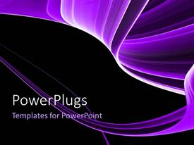 PowerPlugs: PowerPoint template with abstract colorful rendered fractal design