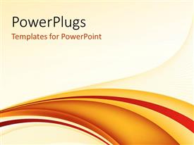PowerPlugs: PowerPoint template with abstract curves with light color