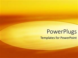 PowerPlugs: PowerPoint template with abstract depiction of different shades of an orange background