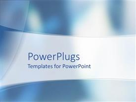 PowerPoint template displaying an abstract depiction of a plain ash colored background