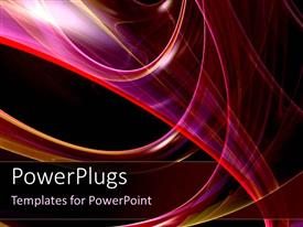 PowerPlugs: PowerPoint template with abstract different shades of pink color