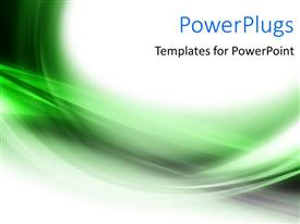 PowerPlugs: PowerPoint template with abstract elegant curves and shades