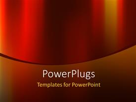 PowerPlugs: PowerPoint template with abstract elegant red color background design