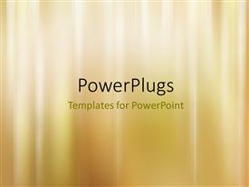 PowerPlugs: PowerPoint template with abstract gold luxury wedding background