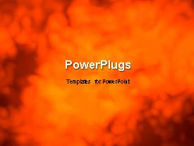 PowerPlugs: PowerPoint template with abstract grunge movement