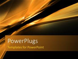 PowerPlugs: PowerPoint template with abstract horizon depiction
