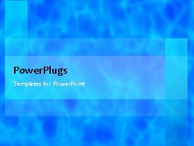 PowerPlugs: PowerPoint template with abstract moving render cloud texture