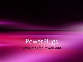 PowerPlugs: PowerPoint template with abstract ocean seascape with blurred panning motion