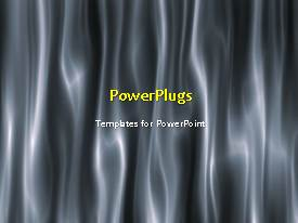 PowerPlugs: PowerPoint template with abstract ornganic animated vintage background with black and white theme