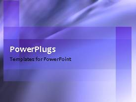 PowerPlugs: PowerPoint template with abstract rotational movement with blue color