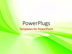PowerPlugs: PowerPoint template with abstraction in white and blue soft background for various design artworks