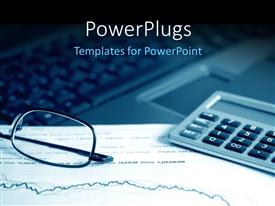PowerPlugs: PowerPoint template with analysis of the financial information on stock market reports