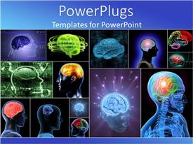 PowerPlugs: PowerPoint template with the anatomy of a number of people