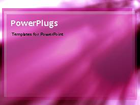 PowerPlugs: PowerPoint template with animated abstract background with purple themed ripples