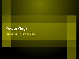 PowerPlugs: PowerPoint template with animated depiction with green circles over black background