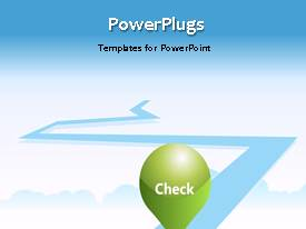 PowerPlugs: PowerPoint template with animated depiction of hiring process on colored line