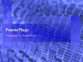 PowerPlugs: PowerPoint template with animated depiction of industrial machine with connected gears