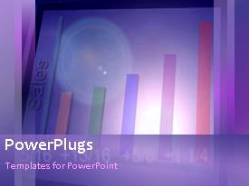 PowerPlugs: PowerPoint template with animated depiction od business chart growing for financial profit