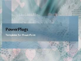 PowerPlugs: PowerPoint template with animated depiction of wedding ceremony with colorful decorations and flowers