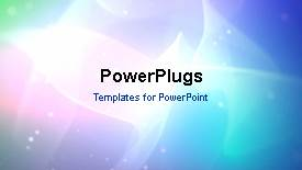 PowerPlugs: PowerPoint template with animated leadership depiction as red 3D man stand out - widescreen format
