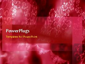 PowerPlugs: PowerPoint template with animated wedding depiction with red and white themed decoration