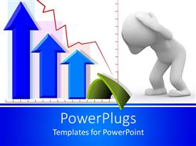 PowerPlugs: PowerPoint template with animation of a human hand covering his ears and arrows