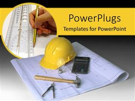 PowerPlugs: PowerPoint template with architectural instruments
