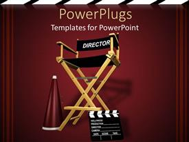 PowerPlugs: PowerPoint template with art Industry