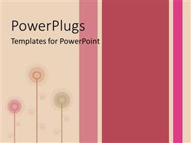 PowerPlugs: PowerPoint template with artistic vertical color bars and lines