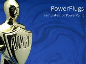 PowerPlugs: PowerPoint template with award ceremony