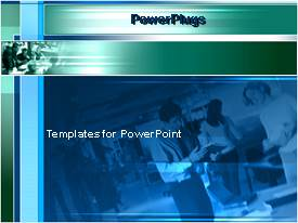 PowerPlugs: PowerPoint template with a background related to a professional office