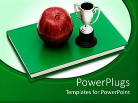 Service award powerpoint templates crystalgraphics audience pleasing ppt featuring a beautiful depiction of an apple and a cup along with a template size toneelgroepblik Choice Image