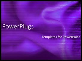 PowerPlugs: PowerPoint template with beautiful purple silky fabric with abstract lines on surface