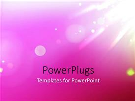 PowerPlugs: PowerPoint template with beautiful shine effect