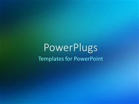 PowerPlugs: PowerPoint template with blue abstract contemporary texture background