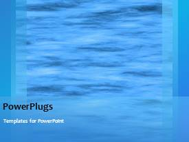 PowerPlugs: PowerPoint template with a bluish background with a number of words