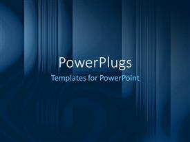 PowerPlugs: PowerPoint template with a bluish background with place for text