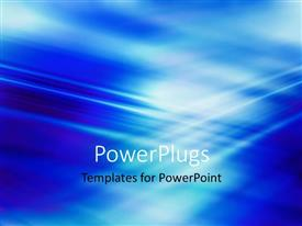 PowerPlugs: PowerPoint template with a bluish background and place for text
