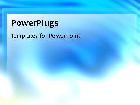 PowerPlugs: PowerPoint template with a bluish background with a shade