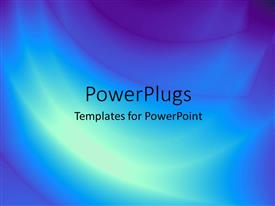 PowerPoint template displaying a bluish and purple background with place for text