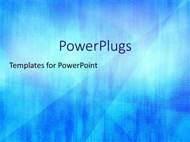 PowerPlugs: PowerPoint template with a bluish technological background with place for text